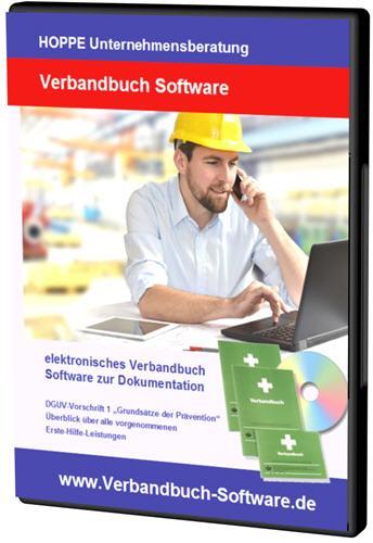 Verbandbuch-Software gemäß der BGV Berufsgenossenschaft Unfälle ...